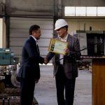 Вручение сертификатов международного стандарта API
